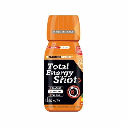 TOTAL ENERGY SHOT NAMEDSPORT NARANJA 60ML