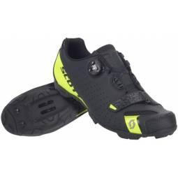Zapatillas Scott MTB Comp Negro-Amarillo