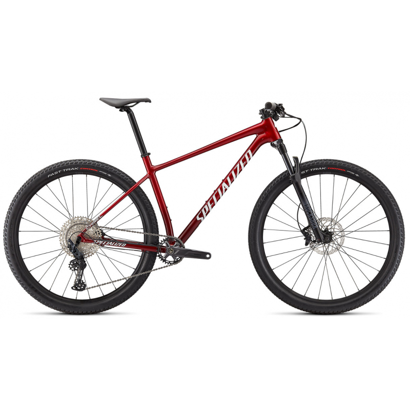 BICICLETA SPECIALIZED CHISEL COMP RED/WHITE 2021
